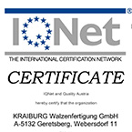 Certificate QM ISO 9001:2008